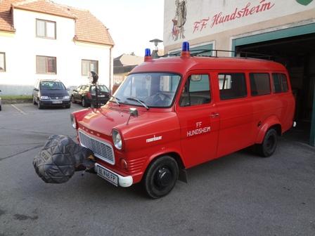 Ausgeschiedene Fahrzeuge – Oldtimer-Transporter
