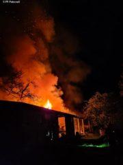 Brandeinsatz am 23.04.2021 – Schuppenbrand in Petronell